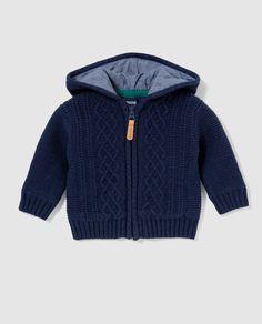 Zelda Baby, Knitting Patterns, Crochet Patterns, Fondant Baby, Hooded Cardigan, Baby Boy Outfits, Diy Clothes, Knitwear, Knit Crochet