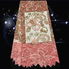 (5yards/lot) JDPN46,NEW design french net lace fabric with beads decoration,hot sale style tulle lace fabric for wedding uniform-in Lace from Home, Kitchen & Garden on Aliexpress.com   Alibaba Group
