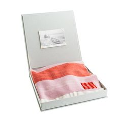 we're completely hooked on this heirloom-quality handwoven blanket | swans island for crew cuts