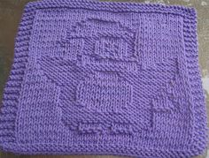 DigKnitty Designs: Happy Penguin Knit Dishcloth Pattern                                                                                                                                                                                 More