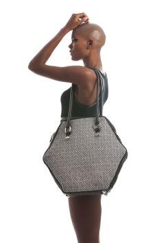 Faclover Hexagon Tote Bag