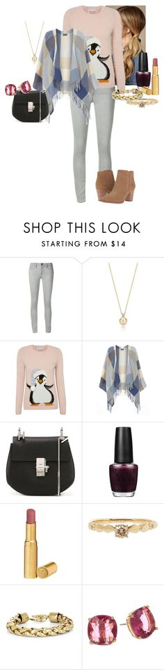 """Dakota Blue Layden - Christmas Shopping"" by katlayden ❤ liked on Polyvore featuring Frame, George, Dorothy Perkins, Chloé, OPI, Too Faced Cosmetics, Anna Sheffield, BCBGMAXAZRIA, Kate Spade and Franco Sarto"
