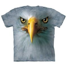 Eagle Face T-Shirt Adult XXL now featured on Fab.