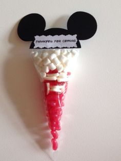 Mickey Mouse And Minnie Pre Filled Sweet Cones Party Bags Birthdays