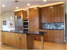 contemporary teak veneer kitchen kitchen cabinet designwood