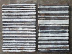 stoneware wall plaques~Brenda Holzke