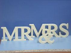 Cartel MR & MRS ideal para casamientos...