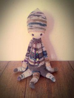 OLEG the octopus made by Jette K. / crochet pattern by lalylala