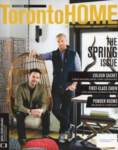 We're covering Toronto Home! Current issue on news stands across Canada NOW! @MovatoHome @cottagelife
