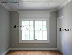 Trick out your trim molding - adding extra moulding gives your home a custom look.
