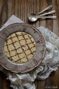 Coco e Baunilha: Arroz doce tradicional
