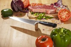 Perfect balance is important in your kitchen knife. This is something we have focused on deeply with the Kuma Chef's Knife. Find out what we mean - order your Kuma Chef's Knife straight from Amazon today  www.bit.ly/amznkumastore?utm_content=bufferfe8e3&utm_medium=social&utm_source=pinterest.com&utm_campaign=buffer  #cooking #cook #chef #knife #kitchen #chefknife #food