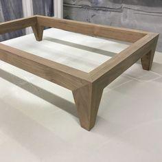 Timber Bed Frames, Timber Beds, Furniture Projects, Wood Projects, Furniture Design, Timber Furniture, Table Furniture, Bedside Cabinet, Joinery