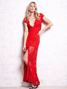 For Love & Lemons Mariposa Maxi Dress at Free People Clothing Boutique