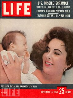 1957 Life Mag. ♣♣Elizabeth Taylor♣♣OCCUPATION: Film Actress BIRTH DATE: February 27, 1932 DEATH DATE: March 23, 2011 PLACE OF BIRTH: London, England PLACE OF DEATH: Los Angeles, California less about Elizabeth BEST KNOWN FOR  Actress Elizabeth Taylor starred in films like Cat on a Hot Tin Roof and Butterfield 8, but was just as famous for her violet eyes and scandalous love life.