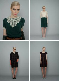 Ingrid Starnes: Winter 2014 ... that green!!!