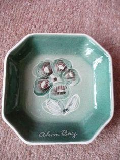 Alum Bay Isle of Wight Pottery Trinket Bowl