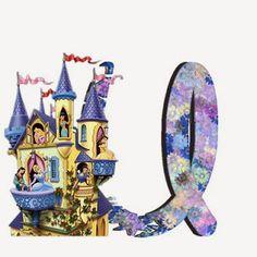 Alfabeto de Princesas Disney. | Oh my Alfabetos! Disney Alphabet, Cute Alphabet, Alphabet Letters, Alfabeto Disney, Disney Princess Party, Minne, Disney Princesses, Wizards, Fairies