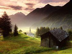 HOLZGAU, TYROL, AUSTRIA