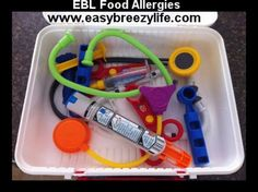 Great toy idea for children with food allergies! EpiPen Trainer Www.easybreezylife.com EBL Food Allergies