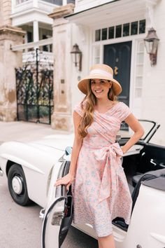 117 vintage summer outfit ideas to looks classic clothes i l Preppy Mode, Preppy Style, My Style, Sexy Dresses, Dress Outfits, Fashion Dresses, Summer Dresses, Classic Outfits, Trendy Outfits