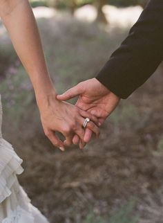 style me pretty - real wedding - usa - california - santa barbara wedding - san ysidro ranch - bride & groom - holding hands Wedding Pics, On Your Wedding Day, Perfect Wedding, Dream Wedding, Wedding Album, Wedding Stuff, Wedding Ideas, Wedding Dresses, Couple Photography