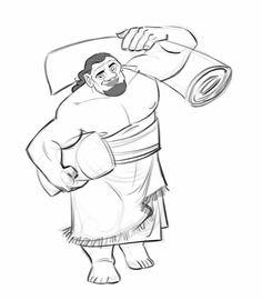 Moana - Character design