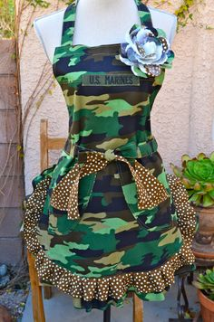 OohRahMarine Military Inspired Camouflage Print by OliviabyDesign, $28.95 I NEED THIS IN MY LIFE!