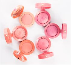 Bourjois Blushes - Really nice & affordable blushes. With a wide choice of colours in powder or cream formulations.
