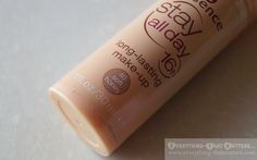 """Essence Stay All Day 16h Foundation """"40 Soft Honey"""" Swatch, Review And FOTD Base Makeup, Eyeshadow Base, Cc Cream, Swatch, Foundation, Honey, Foundation Series"""