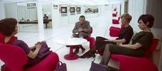 Djinn Chairs from 2001: A Space Odyssey.