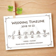 Wedding Timeline Printable Wedding Itinerary Template Green