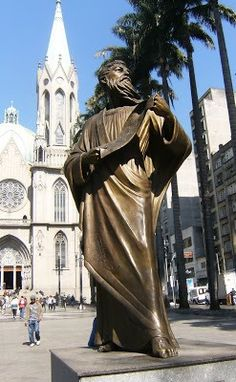 Saint Paul Statue - Saint Paul City - Brazil