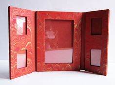 Get handmade paper fold-able family #photoframe online with #craftshopsindia