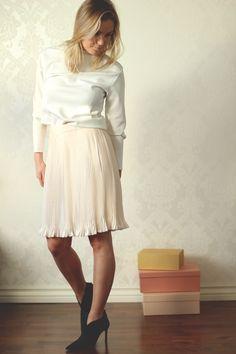 Designers Remix skirt, Prada Heels