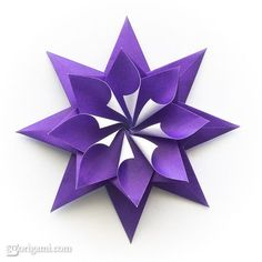 star origami | enrica dray origami star effective paper star design made by combining ...