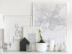 Auf der Mammilade|n-Seite des Lebens | Personal Lifestyle Blog | Lieblinge und Inspirationen der Woche | Amaryllis | DIY Übertopf verschönern | Poster New York | Karte New York | Mujumaps