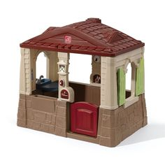 Step2 Neat and Tidy II Playhouse - Read the full review! #step2 #outdoor #play #house