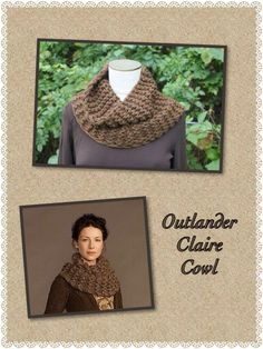 http://celticheartquiltingandknitting.blogspot.com/2014/09/outlander-claire-cowl-pattern.html