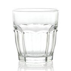 Carley Clear Double Old-Fashioned Glass  | Crate and Barrel