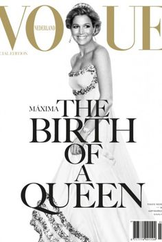 The Queen of Holland Maxima - VOGUE Nederland 2013