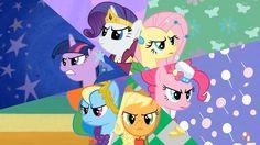 My Little Pony: Friendship is Magic Mane 6 Best night ever