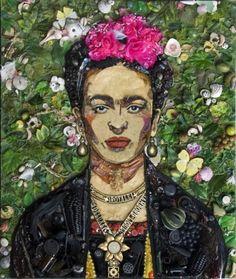 yasboogie:  Trash as Frida Kahlo by Jason Mercier
