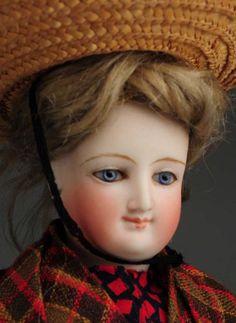 LOT #296 - Lovely Bru Lady Doll.