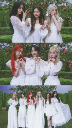 K Pop, Gfriend Profile, Gfriend Album, Buddy Love, G Friend, Bridesmaid Dresses, Wedding Dresses, Kpop Girls, Korean Fashion