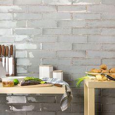 Kitchen And Bath, New Kitchen, Kitchen Decor, Awesome Kitchen, 1960s Kitchen, Kitchen Tables, Countertop Concrete, Granite Countertops, Ceramic Subway Tile