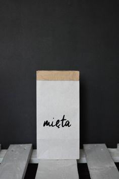 Worek papierowy mini mięta | Blacksis