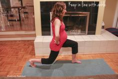 10 minute prenatal gluteal workout, 30 weeks, third trimester, working out for two