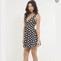 Polka Dot Cocktail Dress Brand new!.. never worn.. has no tags ANGL Dresses Mini