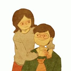 puuung love is gif Hug Kiss Gif, Puuung Love Is, Cute Love Stories, Cute Love Gif, Cute Love Cartoons, Cute Couple Art, Couple Illustration, Tumblr, Cute Drawings